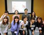 ピッケワークショップ佐賀市立図書館 ピッケ作者の朝倉さんとジョイント